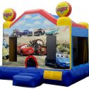 CAR bouncy castle