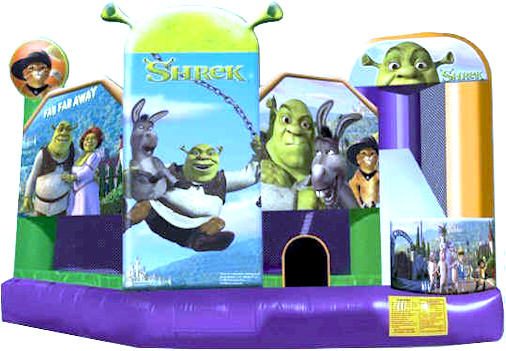 Shrek-Buddys-Bouncy-Castles
