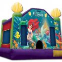 The-Little-Mermaid bouncey castle