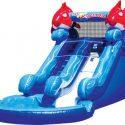 Kids party water slide hire