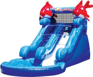 WAter Slide hire bouncy castles