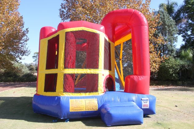 Slide bouncy castle perth